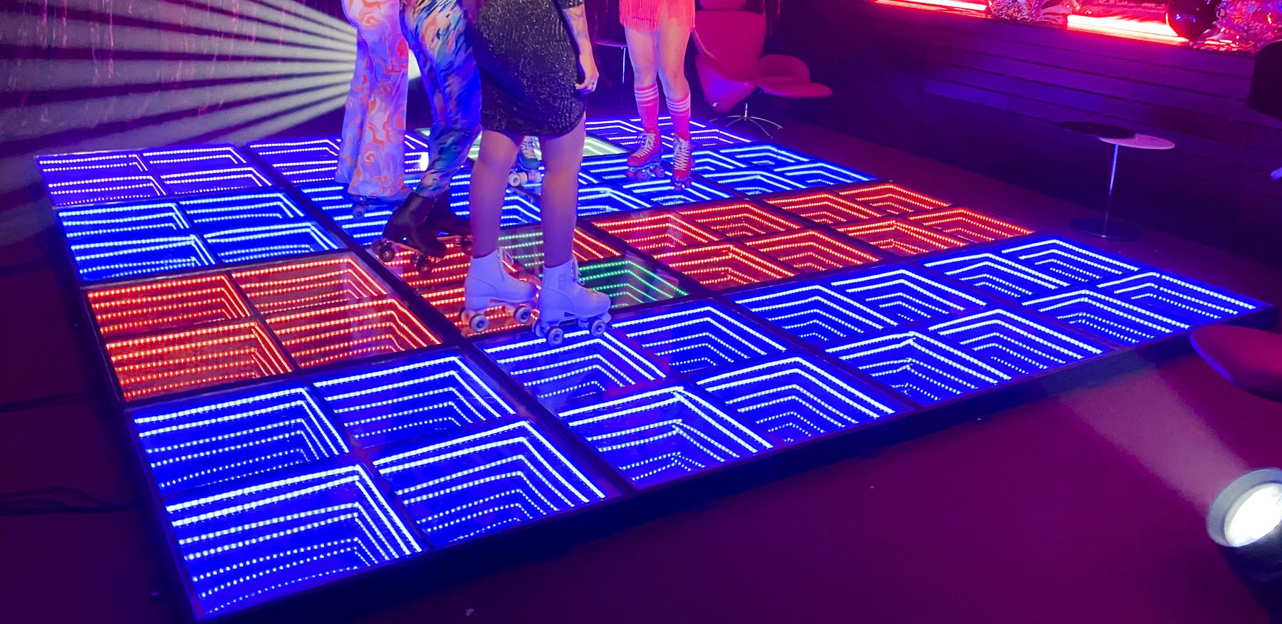 Pista de Baile con Iluminación Led